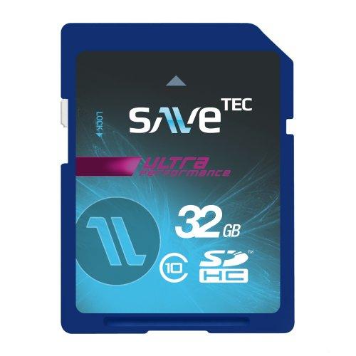 32 GB SaveTec SDHC C10 Speicherkarte