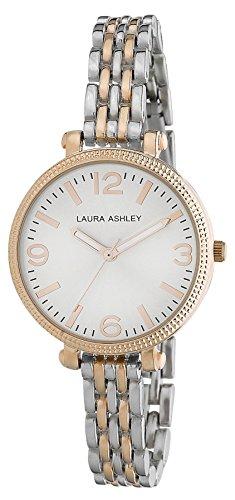 Laura Ashley Women's LA31006RG Analog Display Japanese Quartz Two Tone Watch
