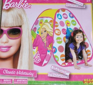 Barbie ( Barbie ) Classic Hideaway Play Tent Playhut Doll Doll Figure ( Parallel Imports ) front-950302