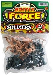 Battle Force Bag of Soldiers 25 Pieces - 1