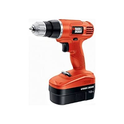 Black and Decker GC1801 18V Cordless Ni-CD Drill,
