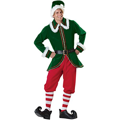 Sexy4Lady Women's Christmas Elf Costume