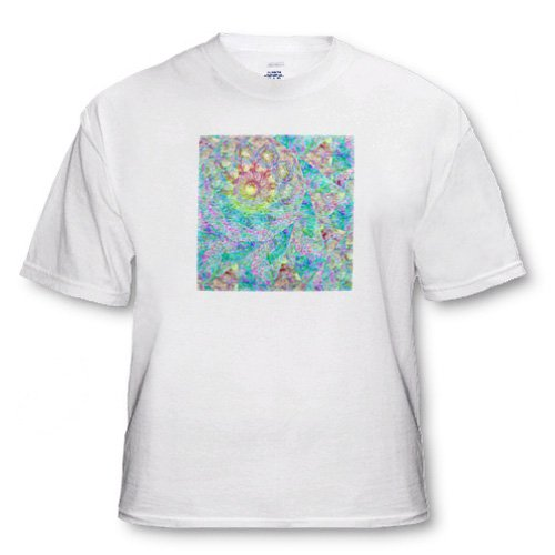 Abstract Digital Art With Textures - Adult T-Shirt 3XL