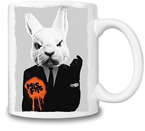 Misfits Rabbit Tazza Coffee Mug Ceramic Coffee Tea Beverage Kitchen Mugs By Genuine Fan Merchandise