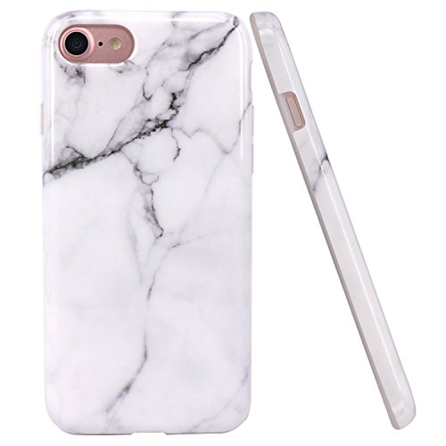 iphone-7-case-jaholan-white-marble-design-slim-shockproof-clear-bumper-tpu-soft-case-rubber-silicone