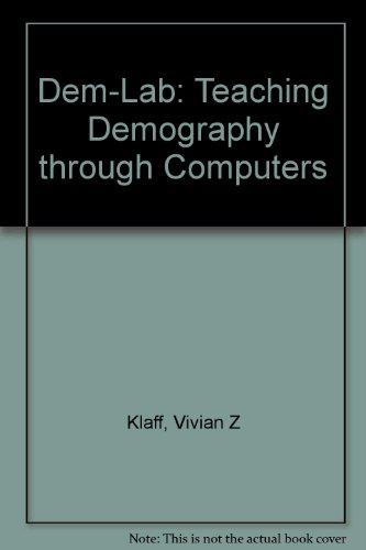 Dem-Lab: Teaching Demography Through Computers