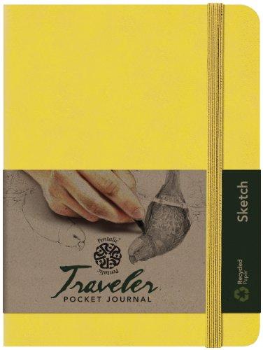 pentalic-art-traveler-pocket-journal-sketch-book-8-x-6-yellow-gold