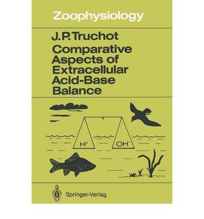 Comparative Aspects of Extracellular Acid-Base Balance (Zoophysiology) (Paperback) - Common