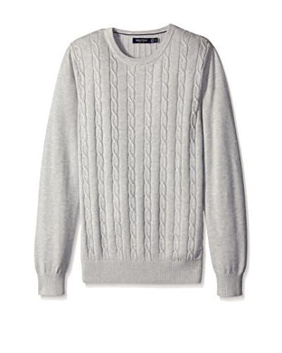 Nautica Men's Cable Knit Sweater