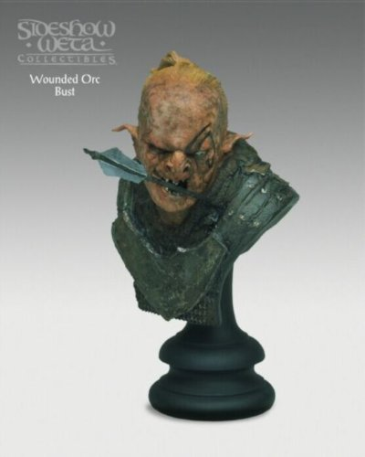 Picture of Shideshow weta Lord of the Rings: The Return of the Kings: Wounded Orc Bust Figure (B003VCA2RU) (Shideshow weta Action Figures)