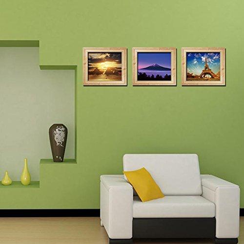 nhd 3d illusion feld landschaft ideen triptychon. Black Bedroom Furniture Sets. Home Design Ideas