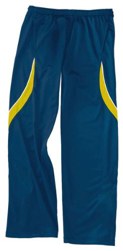 Holloway Men'S Drawstring Waist Endurance Pant_Royal/Light Gold/White_Small