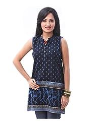 ENAH Sleeveless Warli Print Tunic