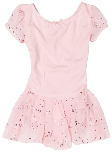 capezio-little-girls-sequined-puff-sleeve-dress-pink-small-4-6