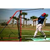Swingaway Mvp Red Bryce Harper Power Hitting Station & Pro-class Pitchback by Swing-A-Way