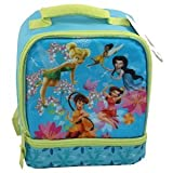 Disney Tinkerbell Insulated Lunch Bag Dual Compartments
