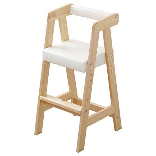 ハイタイプキッズチェア【ヴァレリオ-VALERIO-】(キッズ チェア 椅子)ナチュラル