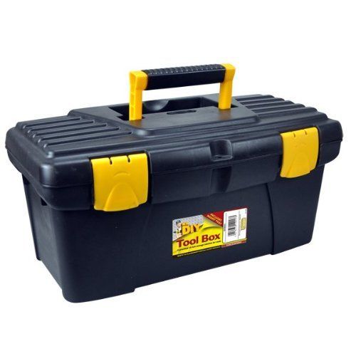 kingfisher-diybox1-16-inch-tool-box-with-lift-out-tray-black-by-king-fisher