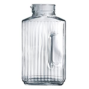 Amazon.com   Luminarc Quadro 2-Liter Glass Pitcher with