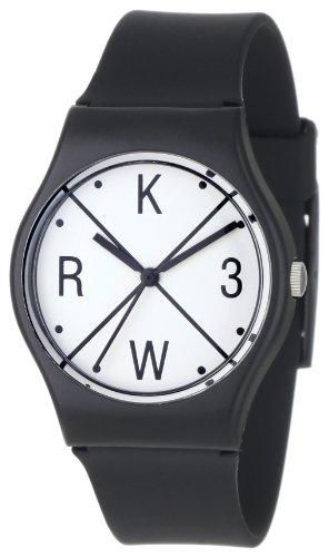 KR3W Men's K1341-BLKX Freshman Black X Watch