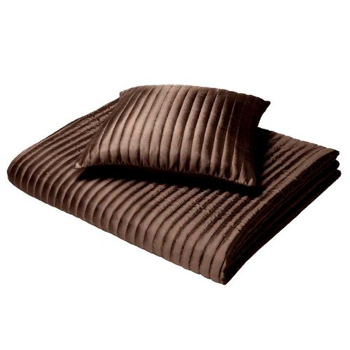 Catherine Lansfield CI Home - Colcha (240 x 260cm), color marrón chocolate