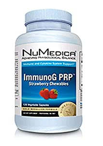 ImmunoG PRP Chewables Strawberry 120 Chewable Tablets