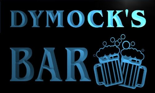 w099836-b-dymocks-name-home-bar-pub-beer-mugs-cheers-neon-light-sign