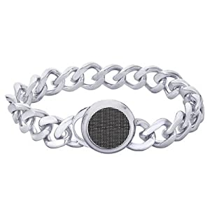 Peora Valentine 316L Stainless Steel Men Bracelet PSB758 available at Amazon for Rs.2600
