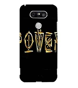 LG G5 POWER Back Cover by PRINTSWAG