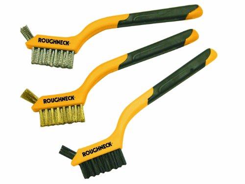 Roughneck 52005 - Mini spazzole in filo di ferro, set da 3 pezzi
