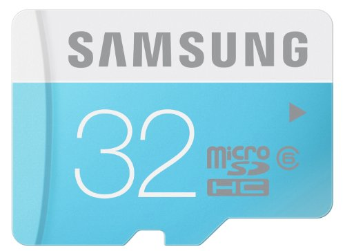 Samsung 32 Go Carte Mémoire Standard MicroSDHC Classe 6 MB-MS32D/EU