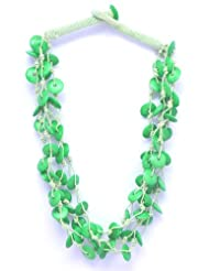 V3 Craft's Multi-strand Resin Bead Necklace For Women