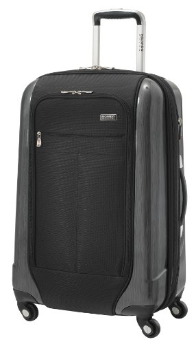 Ricardo Beverly Hills Luggage Crystal City 24 Inch Expandable Spinner Upright Suitcase, Black, Large B007ML9B3C