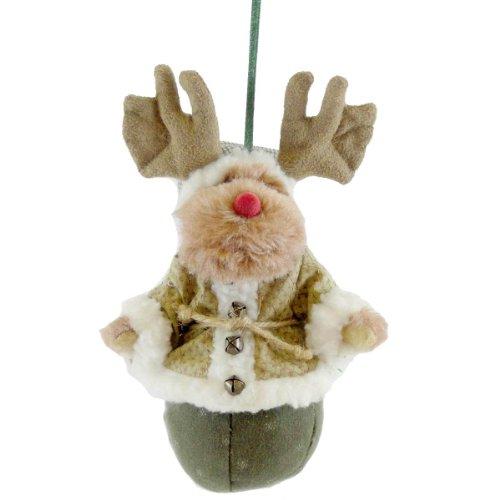 Boyds Bears Plush Lil' Milford Moosel Kringle-K Christmas Ornament Moose – Plush & Fabric 6.00 IN