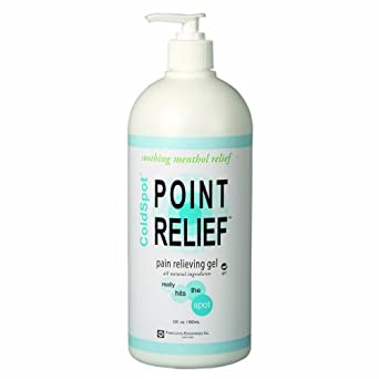 Point Relief 11-0711-1 ColdSpot Gel Pump, 32 oz Bottle