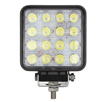 Man Friday 48W 16LED spot fonctionne Lampe Pour remorque Off Road Bateau 2V 24V