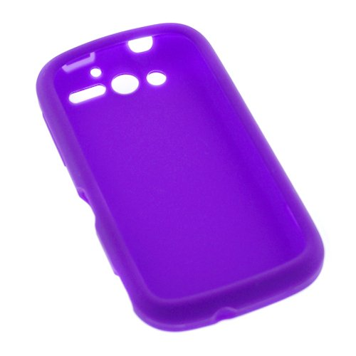 GTMax Purple silicone Case For HTC MyTouch 4G Cell Phone