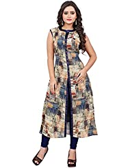 New Latest Fancy Designer Georgette Regular Kurtis For Women's