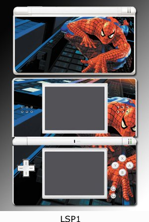 Spiderman Game Vinyl Decal Cover Skin Protector #1 for Nintendo DS Lite