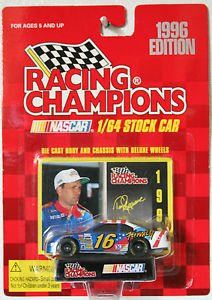 Racing Champions 1/64 scale diecast with collectors card 1996 Edition #16 Ted Musgrave