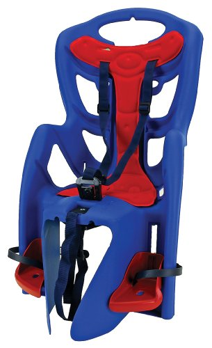 Bellelli Pepe Clamp Fit Baby Carrier (Blue/Red,