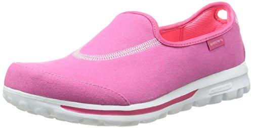 Skechers - Gowalk 2 Spark, Sandali sportivi da donna, rosa (hot pink), 40 EU
