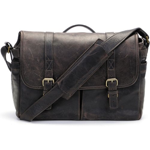 ONA Brixton Camera/Laptop Messenger Bag (Leather, Dark Truffle) special