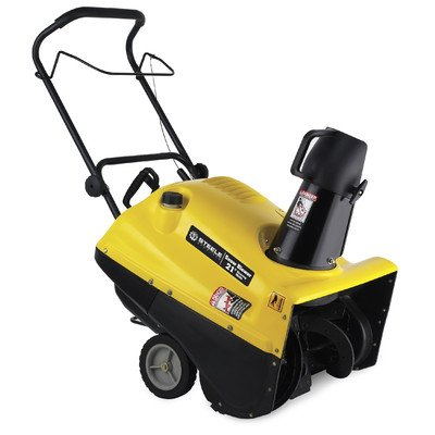 """Steele Snow Blower Sp-5B-2621 21"""" 163Cc 5.5Hp Gas Powered Single Stage Electric Start"""