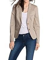 ESPRIT Collection Damen Blazer Slim Fit 995EO1G900
