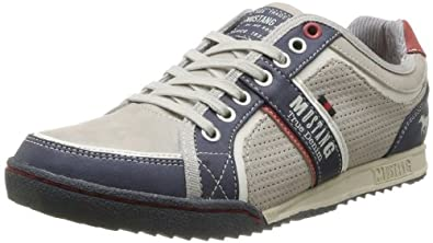 Mustang 4071303, Baskets mode homme - Ivoire (243 Ivory), 41 EU
