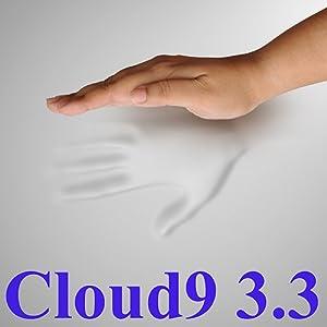 3.3 Cloud9 King 3 Inch 100% Visco Elastic