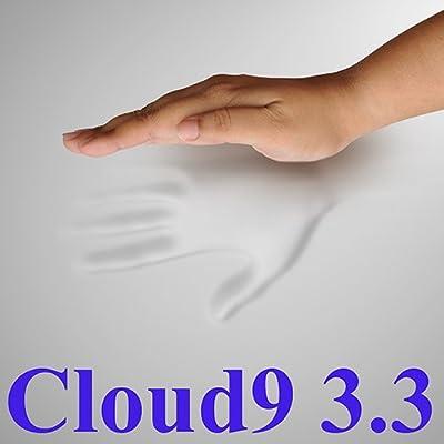 3.3 Cloud9 King 3 Inch 100% Visco Elastic Memory Foam Mattress Topper with Cloud9 Bedding Foam