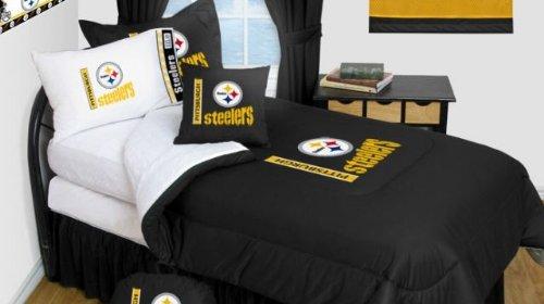 pittsburgh steelers bedding nfl comforter and sheet set
