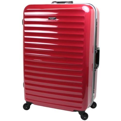 【SUCCESS サクセス】 スーツケース ・キャリーバッグ・旅行かばん(3サイズ・大型/中型/小型) 【TSAロック搭載 軽量フレーム グラード2013 ハイエンドモデル】 (大型75㎝ 5.3kg 94L, レッド)